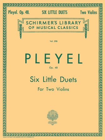Product Cover for Six Little Duets, Op. 48