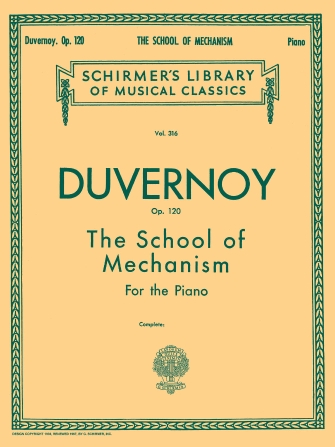 Product Cover for School of Mechanism, Op. 120
