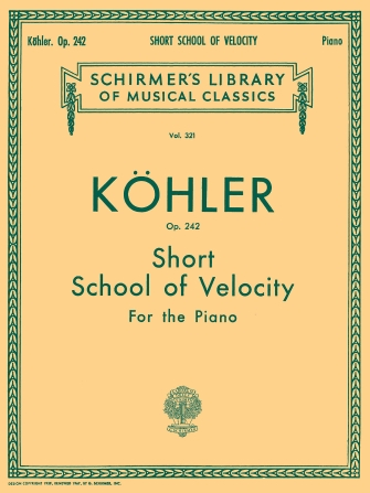 Product Cover for Short School of Velocity Without Octaves, Op. 242