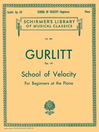 Product Cover for School of Velocity, Op. 141