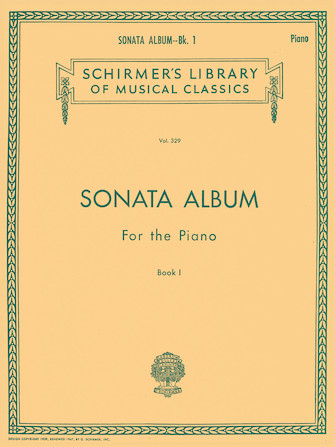 Product Cover for Sonata Album for the Piano – Book 1