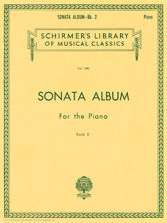 Product Cover for Sonata Album for the Piano – Book 2