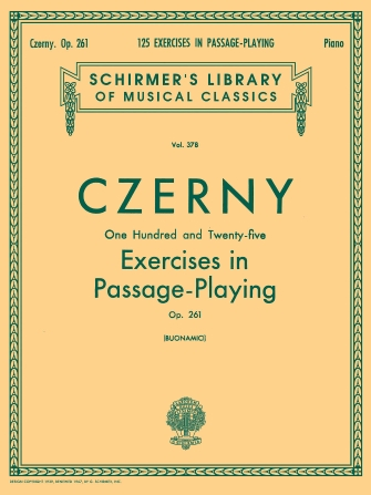 Product Cover for 125 Exercises in Passage Playing, Op. 261