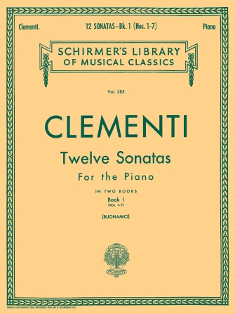 Product Cover for 12 Sonatas – Book 1