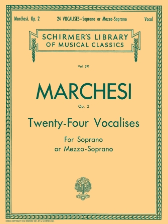 Product Cover for 24 Vocalises, Op. 2