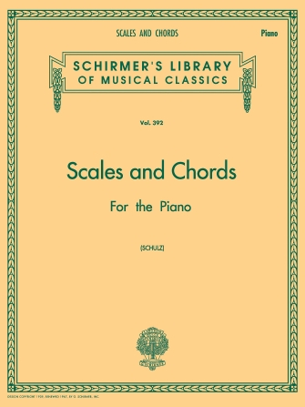 Product Cover for Scales and Chords in all the Major and Minor Keys