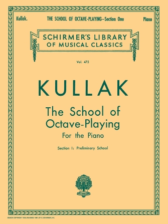 Product Cover for School of Octave Playing, Op. 48 – Book 1