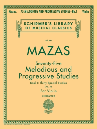 Product Cover for 75 Melodious and Progressive Studies, Op. 36 – Book 1