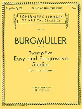 Product Cover for Twenty-Five Easy and Progressive Studies for the Piano, Op. 100