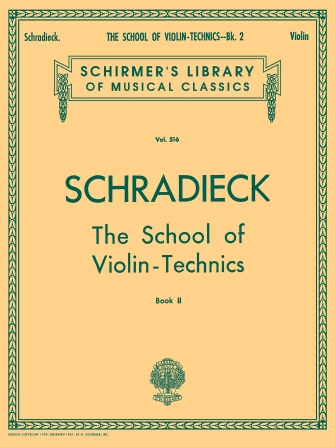 Product Cover for School of Violin Technics – Book 2