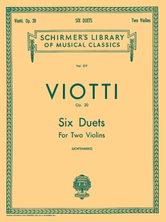 Product Cover for 6 Duets, Op. 20