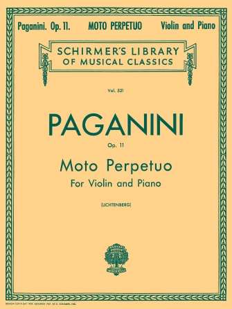 Product Cover for Moto Perpetuo, Op. 11, No. 6