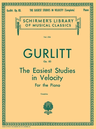 Product Cover for Easiest Studies in Velocity, Op. 83