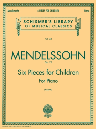 Product Cover for 6 Pieces for Children, Op. 72