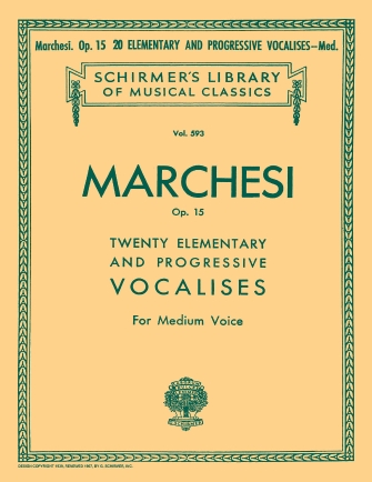 Product Cover for 20 Elementary and Progressive Vocalises, Op. 15