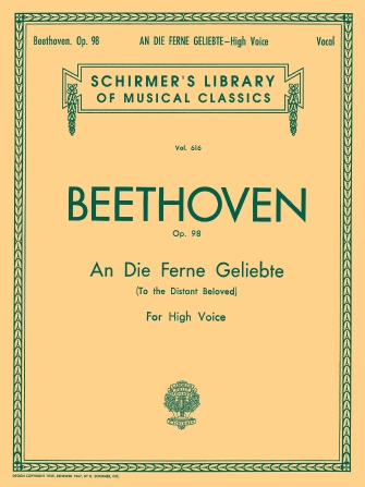 Product Cover for An die ferne Geliebte (To the Distant Beloved), Op. 98