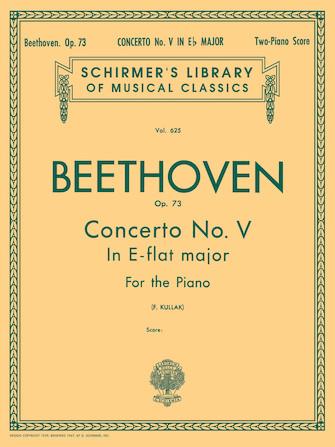 "Product Cover for Concerto No. 5 in Eb (""Emperor""), Op. 73 (2-piano score)"