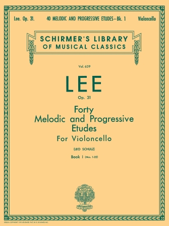 Product Cover for 40 Melodic and Progressive Etudes, Op. 31 – Book 1