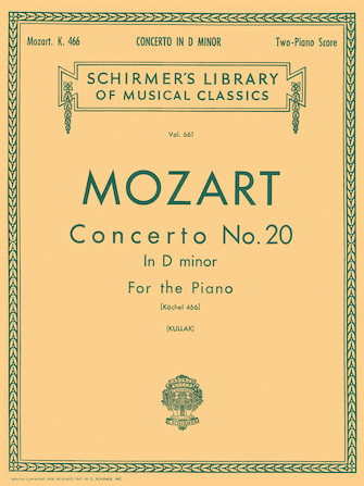 Product Cover for Concerto No. 20 in D Minor, K.466