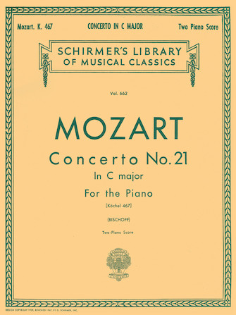 Product Cover for Concerto No. 21 in C, K.467
