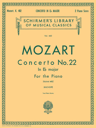 Product Cover for Concerto No. 22 in Eb, K.482