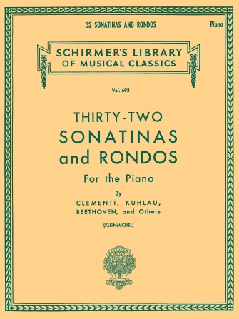 Product Cover for 32 Sonatinas and Rondos