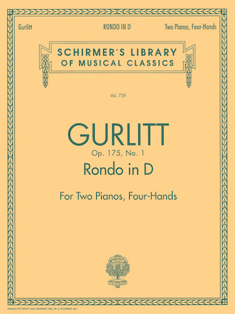 Product Cover for Rondo in D, Op. 175, No. 1 (set)
