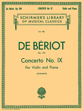 Product Cover for Concerto No. 9 in A Minor, Op. 104