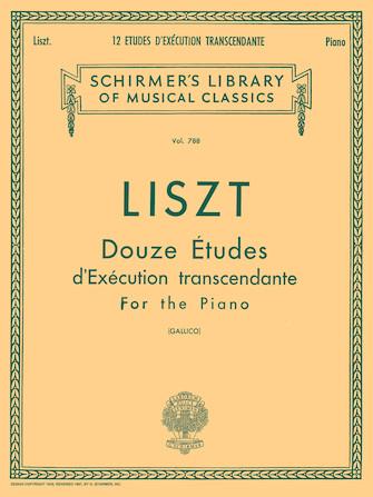 Product Cover for 12 Études d'exécution transcendante
