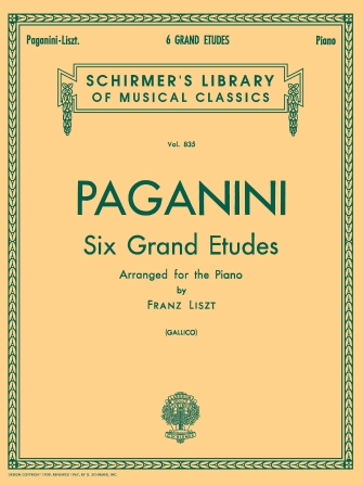 Product Cover for 6 Grande Etudes after N. Paganini
