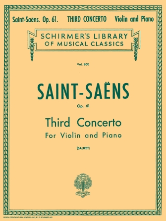 Product Cover for Third Concerto in B Minor, Op. 61