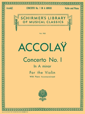 Product Cover for Concerto No. 1 in A Minor