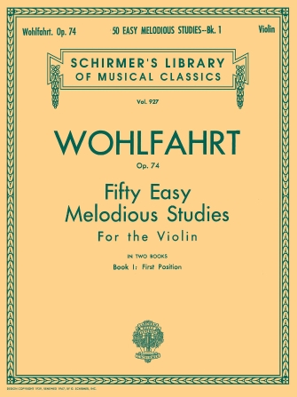 Product Cover for 50 Easy Melodious Studies, Op. 74 – Book 1