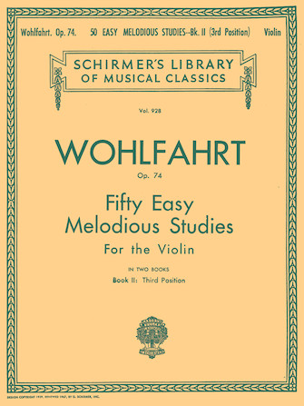 Product Cover for 50 Easy Melodious Studies, Op. 74 – Book 2