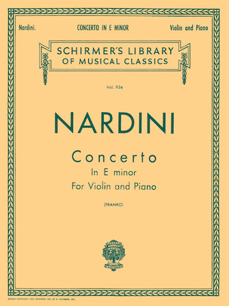 Product Cover for Concerto in E minor