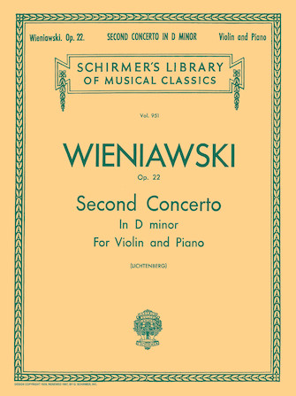 Product Cover for Second Concerto in D Minor, Op. 22