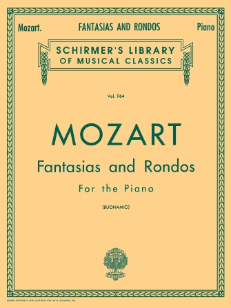 Product Cover for Fantasias and Rondos