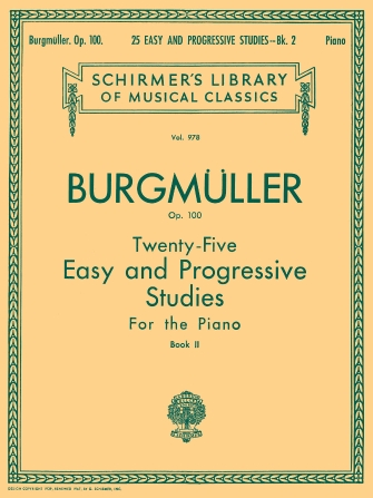 Product Cover for 25 Easy and Progressive Studies for the Piano, Op. 100 – Book 2