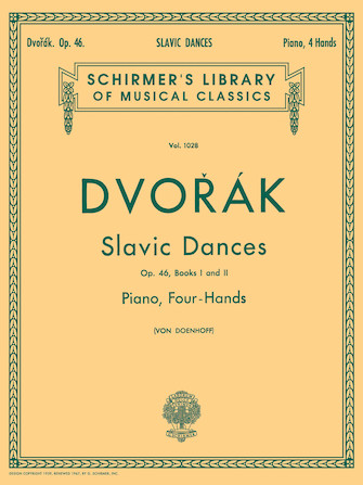 Product Cover for Slavonic Dances, Op. 46 – Books 1 & 2