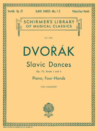 Product Cover for Slavonic Dances, Op. 72 – Books 1 & 2
