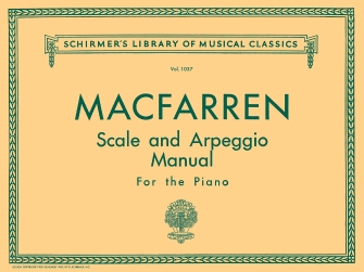 Product Cover for Scale and Arpeggio Manual