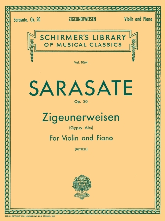 Product Cover for Zigeunerweisen (Gypsy Aires), Op. 20