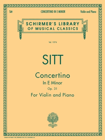 Product Cover for Concertino in E Minor, Op. 31