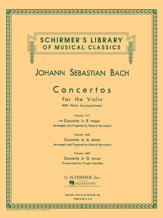 Product Cover for Concerto in E Major