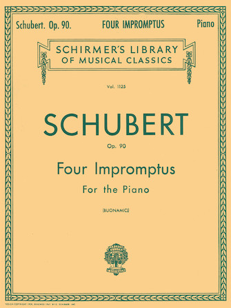 Product Cover for 4 Impromptus, Op. 90