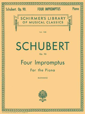 4 Impromptus, Op. 90