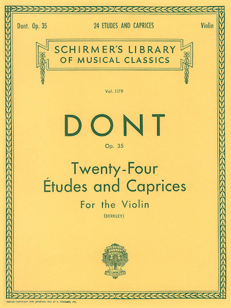 Product Cover for 24 Etudes and Caprices, Op. 35