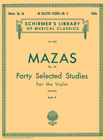 Product Cover for 40 Selected Studies, Op. 36 – Book 2