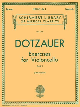 Product Cover for Exercises for Violoncello – Book 1