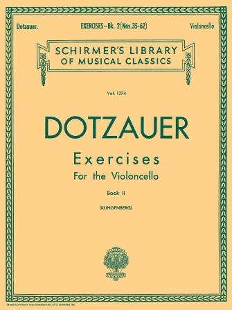 Product Cover for Exercises for Violoncello – Book 2